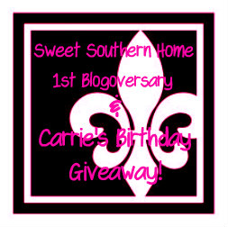 Birthday and Blogoversary Giveaway
